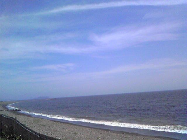 辻堂付近海沿いサイクリングロード