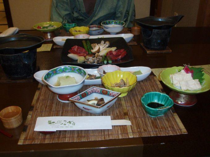 千代滝夕食