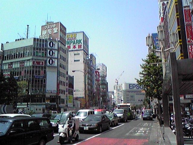 新宿靖国通り