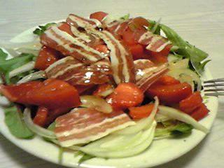 パンチェッタのサラダ