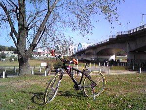チャリンコガス橋