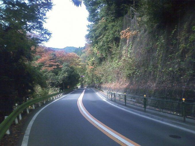 秋の陣馬街道