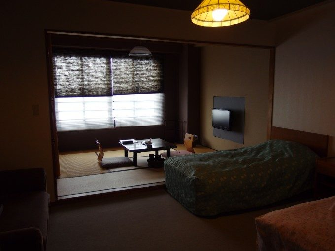 浅虫さくら観光ホテル和洋室