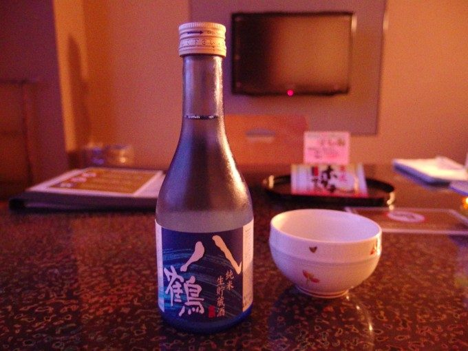 八鶴純米生貯蔵酒