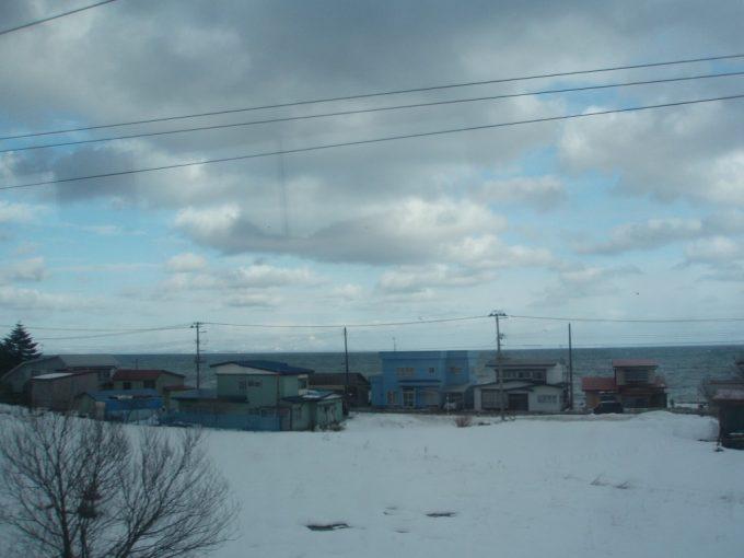 冬の陸奥湾