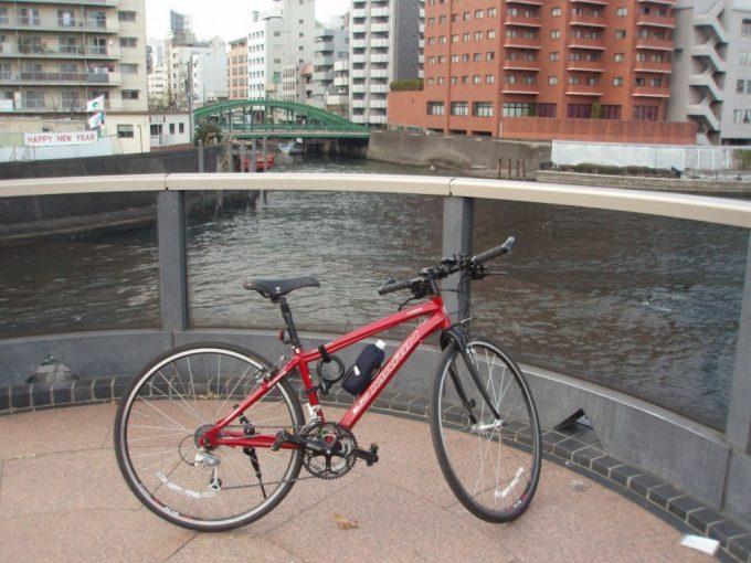 神田川河口と愛車