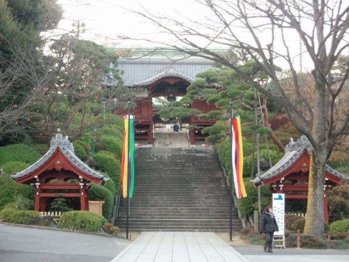 護国寺の不老門
