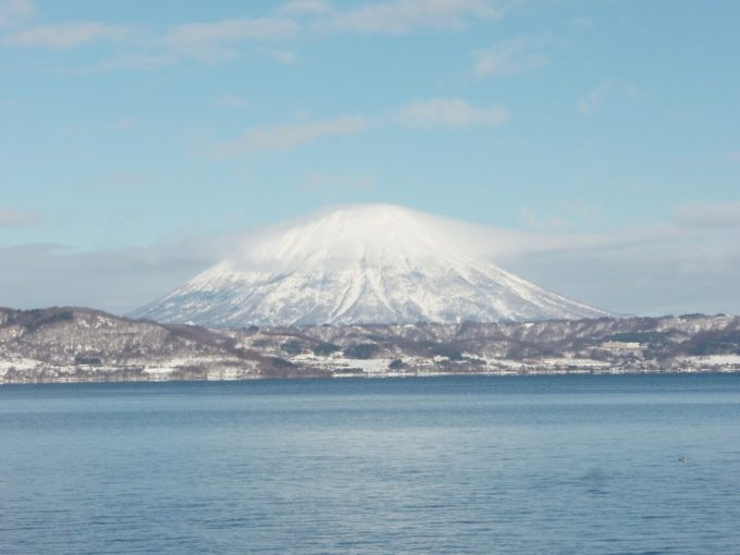 雄大な蝦夷富士羊蹄山