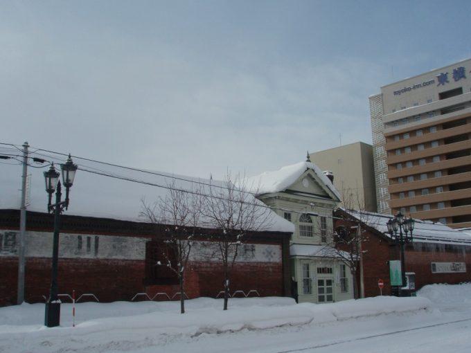 冬の旭川歴史ある建物
