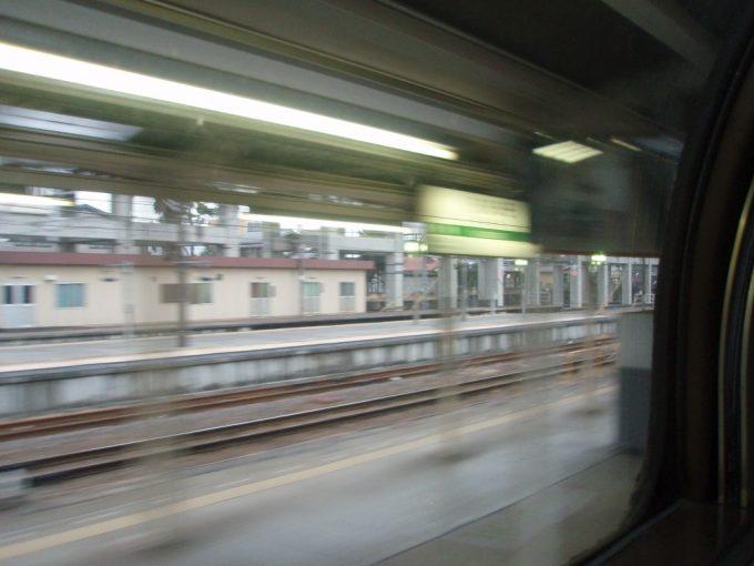 北斗星黒磯駅通過