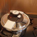 圧力鍋でビーフシチューと、圧力鍋の使い方