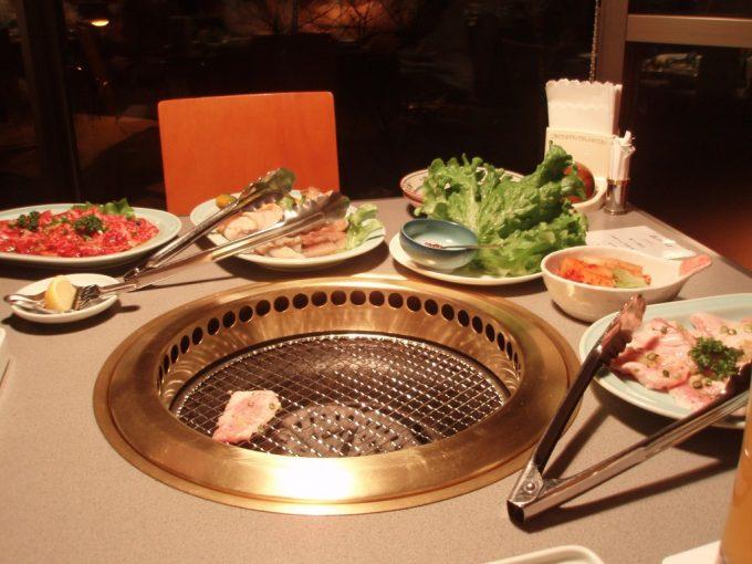 ホテル安比グランドアネックス焼肉夕食
