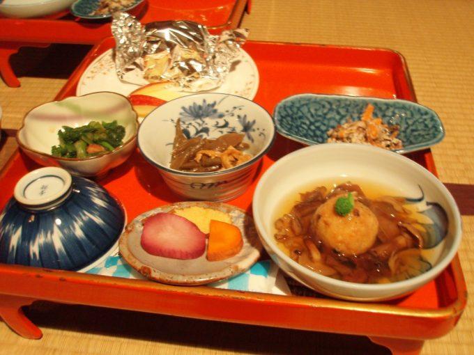 乳頭温泉郷鶴の湯夕食