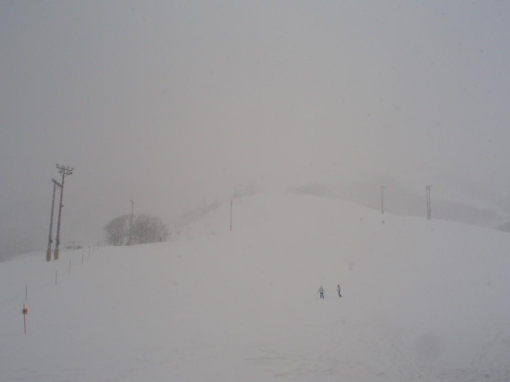 吹雪のニセコグランヒラフ