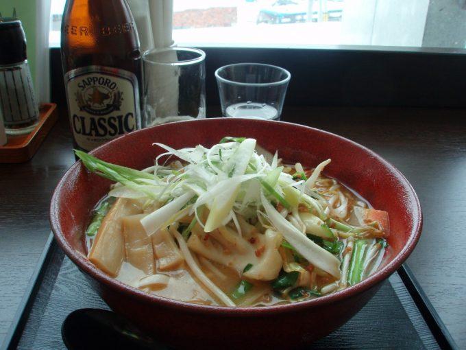 ニセコひらふ~るの味噌ラーメン