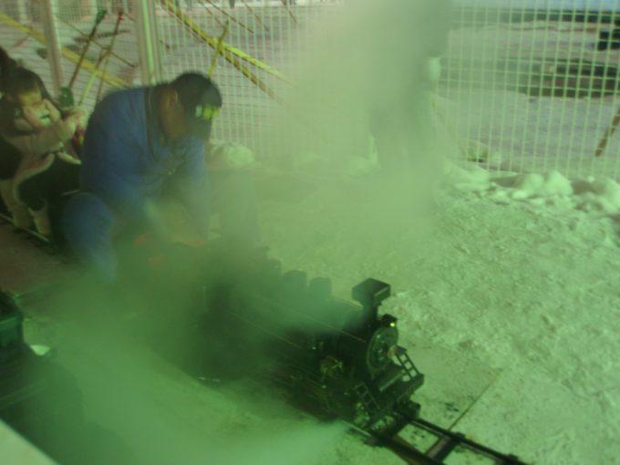 さっぽろ雪まつり大通会場ミニSL