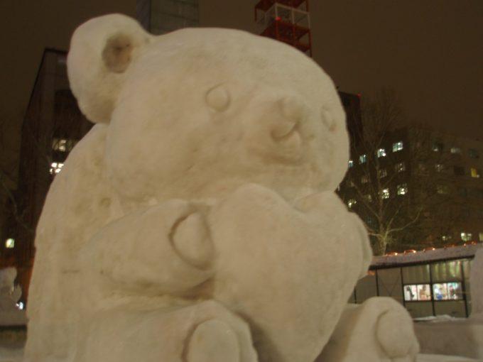 さっぽろ雪まつり大通会場リラックマ雪像