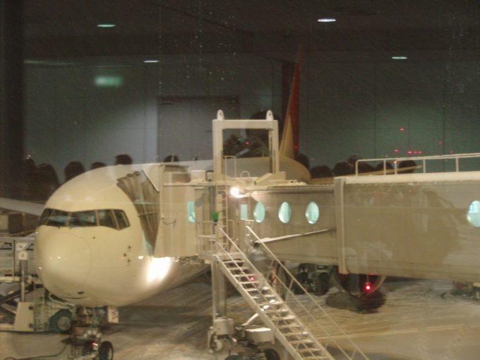 新千歳空港のJAL767
