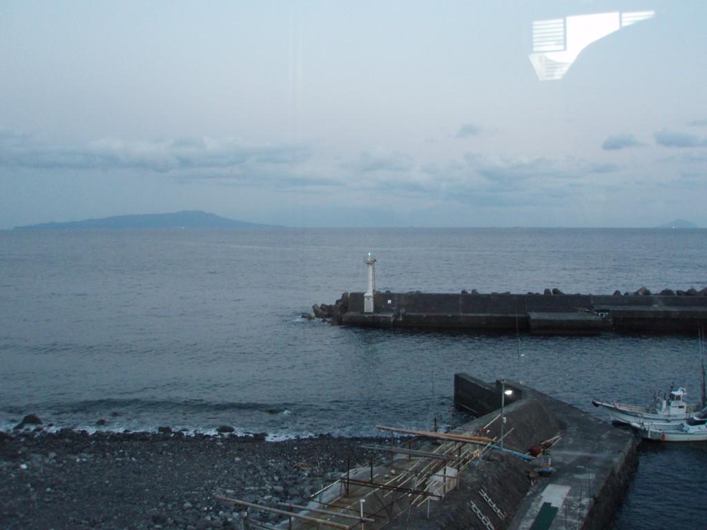 海が庭港屋旅館の眺め