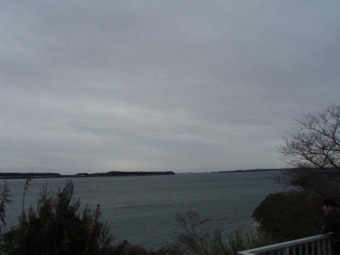 浜名湖サービスエリアからの浜名湖