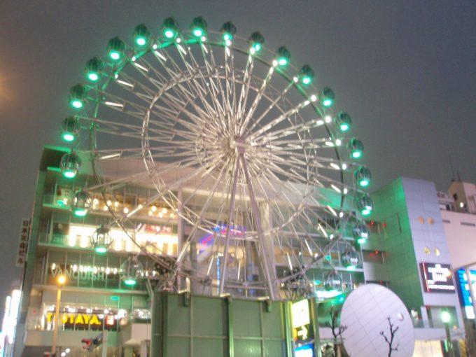 名古屋栄駅前夜の観覧車