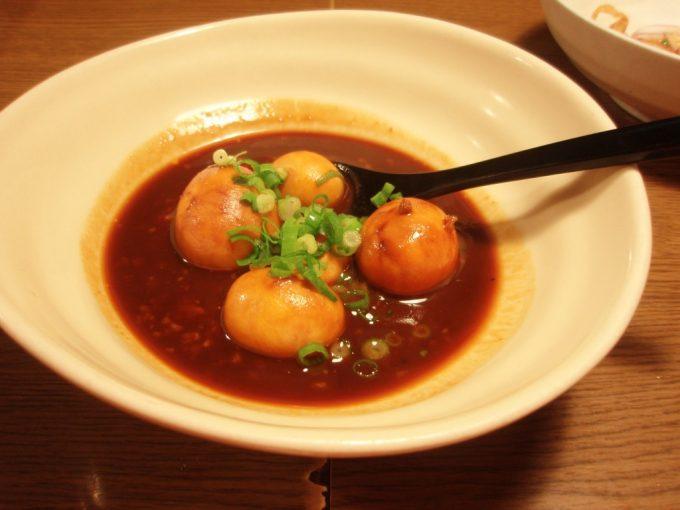 名古屋栄伍味酉本店キンカンの八丁味噌煮