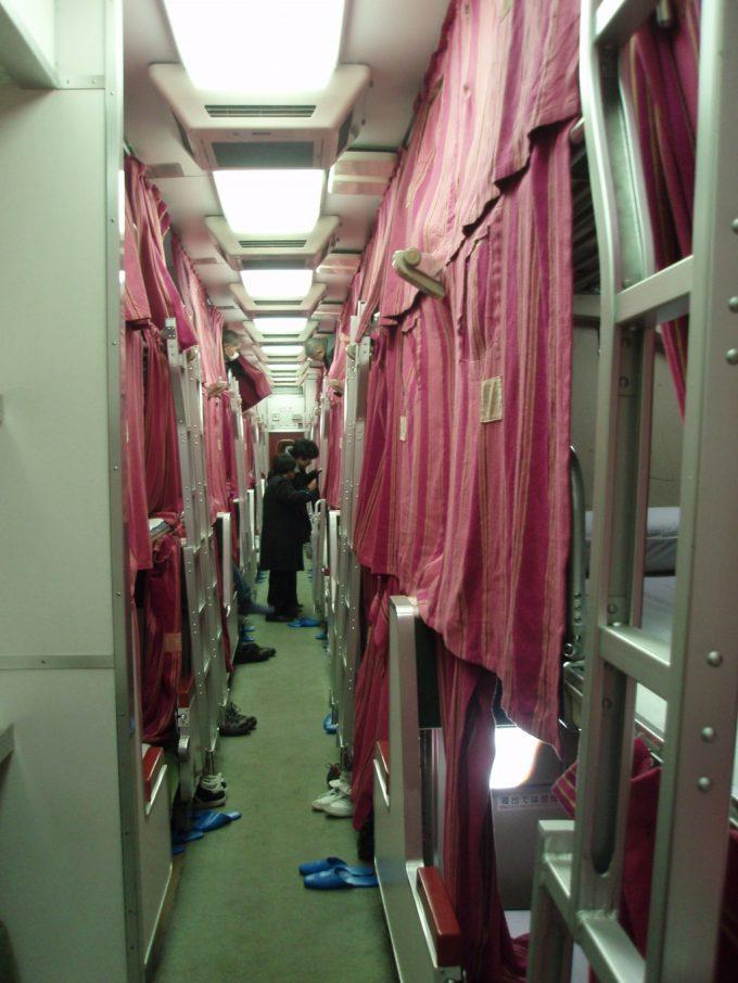 国鉄型583系三段寝台