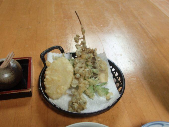 栃尾又温泉自在館天ぷら