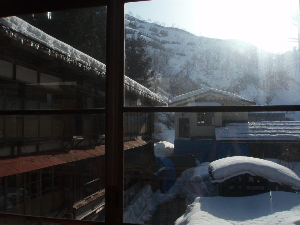 栃尾又温泉自在館で迎える朝