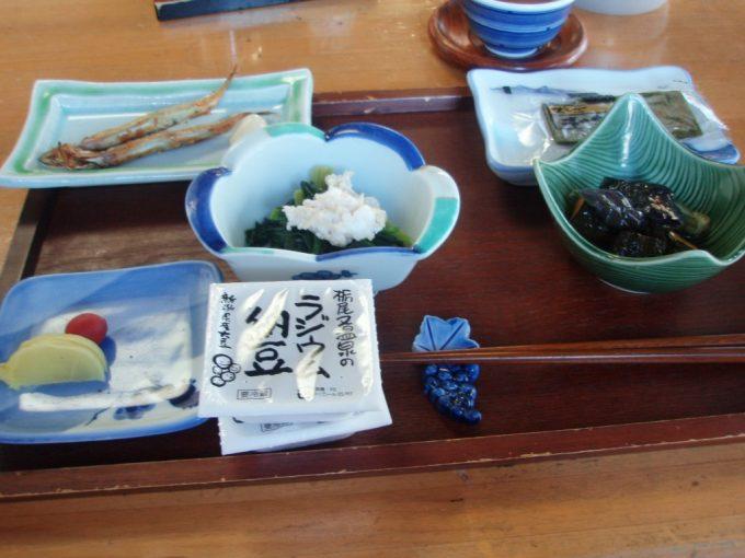 栃尾又温泉自在館朝食