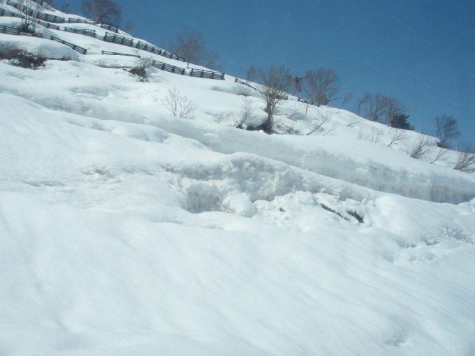 春まだ浅い栃尾又の雪景色