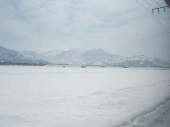 新潟の雪山