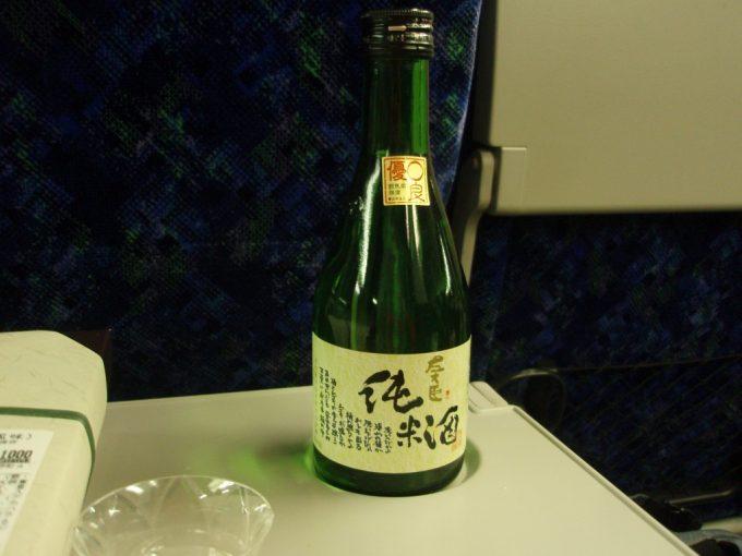 湘南新宿ライングリーン車で左大臣純米酒