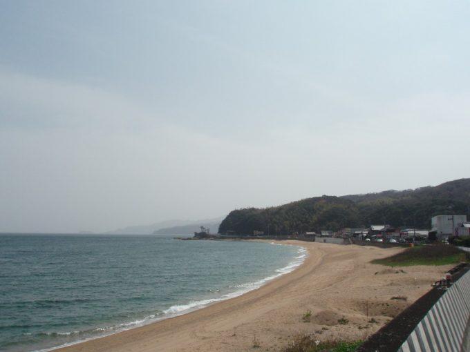 淡路島のきれいな海岸線