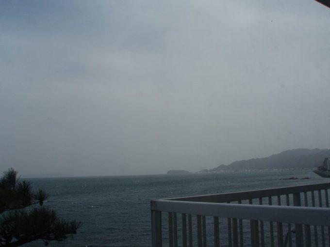 淡路島観光ホテル客室からのオーシャンビュー