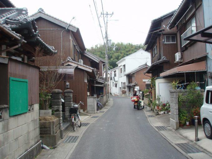 淡路島漁村の風景