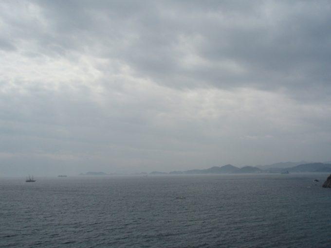 淡路島より四国を望む