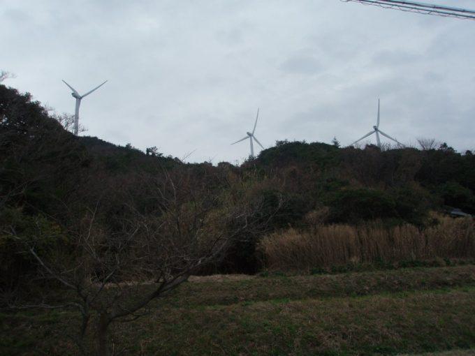 淡路島風力発電の風車