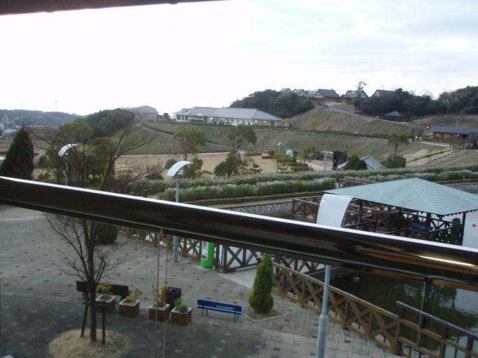 ウェルネスパーク五色浜千鳥客室からの眺め