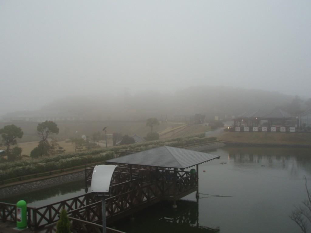 雨のウェルネスパーク五色