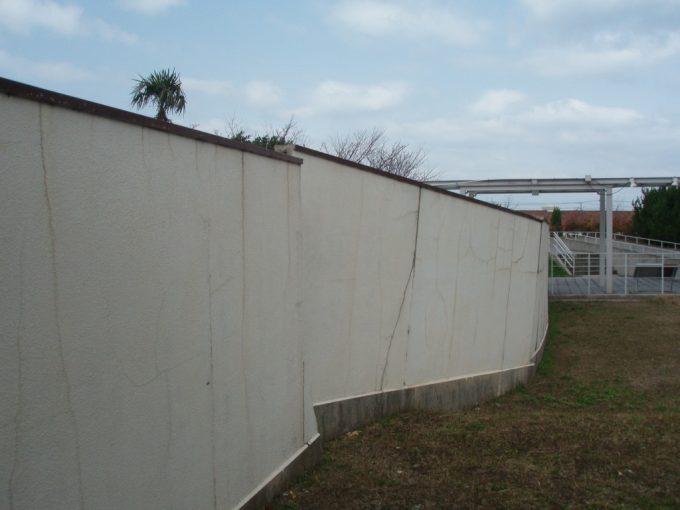北淡震災記念公園メモリアルハウスの塀