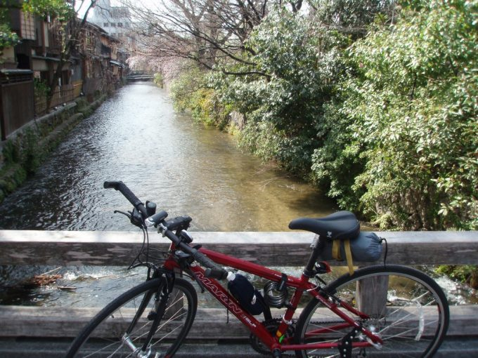 祇園白川と愛車