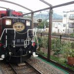 嵯峨野観光鉄道トロッコ機関車
