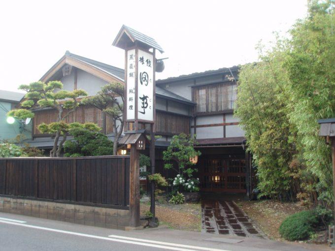 会津若松料理旅館田事