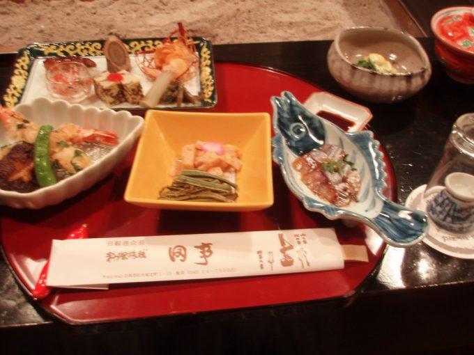 会津若松料理旅館田事の夕食