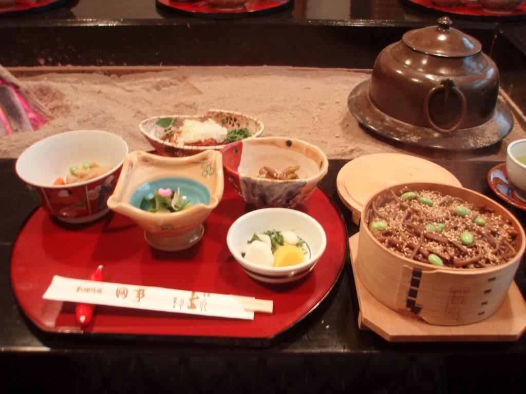 会津若松田事の朝食めっぱ飯