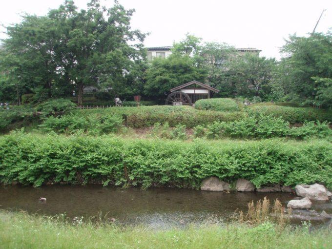 野川沿いの水車小屋