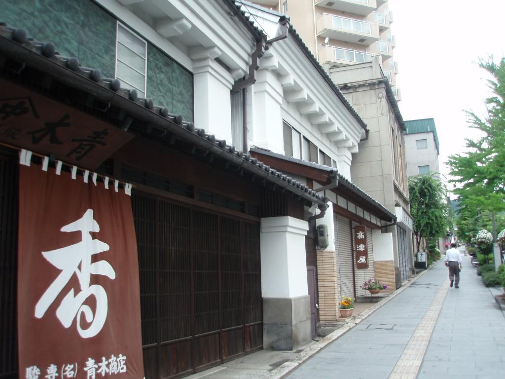 長野の街並み