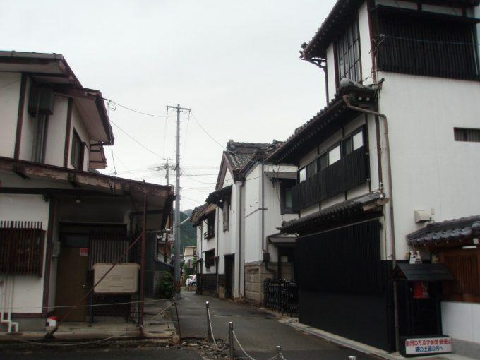 長野の渋い路地