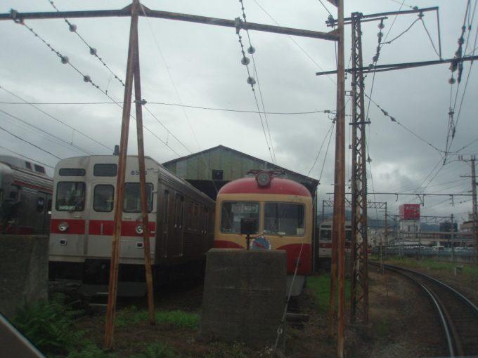 懐かしい長野電鉄初代特急電車